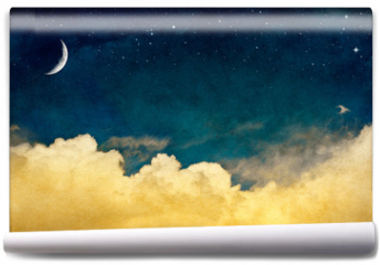 Fototapeta - Moon and Cloudscape