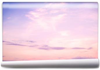 Fototapeta - Nature background of beautiful landscape - serenity and rose quartz color filter