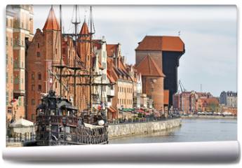 Fototapeta - Old town of Gdansk
