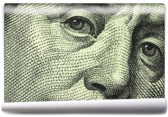 Fototapeta - one hundred dollar bill closeup