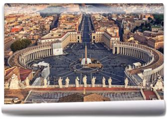 Fototapeta - Piazza San Pietro in Vatican City