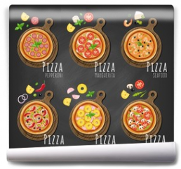 Fototapeta - Pizza