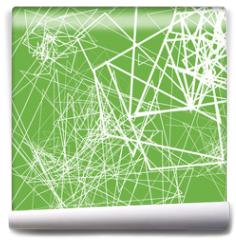 Fototapeta - Random sketchy lines abstract monochrome background, pattern