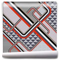 Fototapeta - Retro stile abstract  background. Illustration 10 version