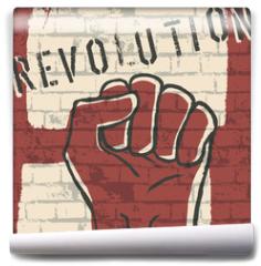 Fototapeta - Revolution! vector illustration, EPS10