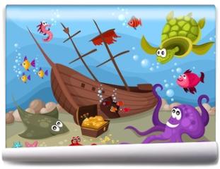 Fototapeta - sea life