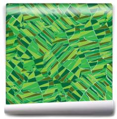 Fototapeta - Seamless pattern with leaves.