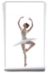 Fototapeta - sillhouette of ballerina