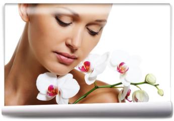 Fototapeta - Skin treatment for beauty adult woman