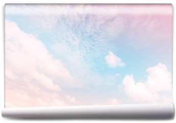 Fototapeta - Sky with a pastel colored gradient