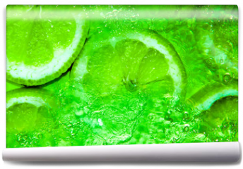 Fototapeta - Spritzige Limonen