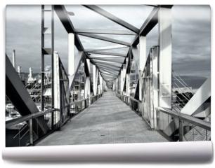Fototapeta - Stahlbrücke