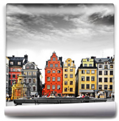 Fototapeta - Stockholm, heart of old town,