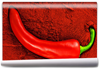 Fototapeta - Tandoori, red chili pepper