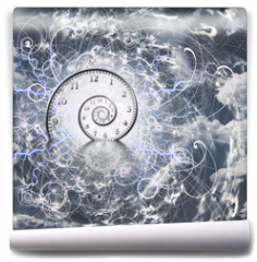 Fototapeta - Time and Quantum Physics