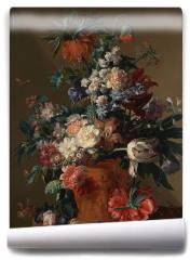 Fototapeta - Vase of flowers - Jan van Huysum