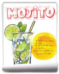 Fototapeta - vector mojito