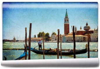Fototapeta - Venice, View of San Giorgio maggiore from San Marco