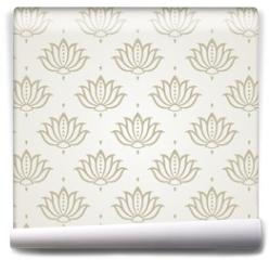 Fototapeta - water lily , wedding card design, royal India
