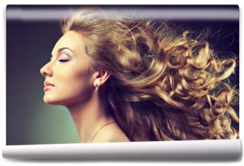 Fototapeta - wavy hair