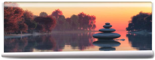 Fototapeta - Zen stones