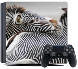 Naklejka na konsolę - Zebra