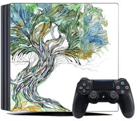Naklejka na konsolę - Stare drzewo