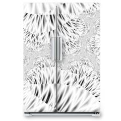Naklejka na lodówkę -  Fractal artwork for creative design.