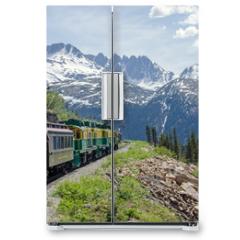 Naklejka na lodówkę - White Pass & Yukon Route Railroad