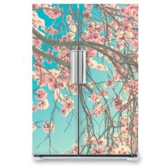 Naklejka na lodówkę - Spring blossom
