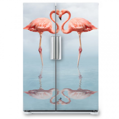 Naklejka na lodówkę - making love