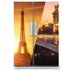 Naklejka na lodówkę - Paris