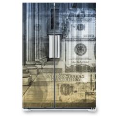 Naklejka na lodówkę - Accounting and Finance