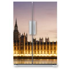 Naklejka na lodówkę - Big Ben and House of Parliament