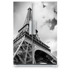 Naklejka na lodówkę - The Eiffel tower, Paris France