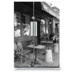Naklejka na lodówkę - montmartre 4687