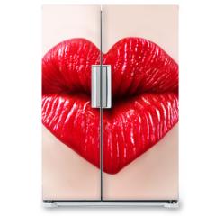 Naklejka na lodówkę - saint valentine lips