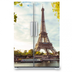 Naklejka na lodówkę - Paris Eiffel Tower, France