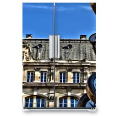 Naklejka na lodówkę - Paris; France - august 4 2018 : Paris Saint Lazare station