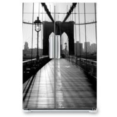 Naklejka na lodówkę - Brooklyn Bridge, Manhattan, New York City, USA