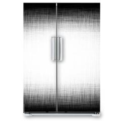 Naklejka na lodówkę - Black-and-white shaded background. Vector pattern