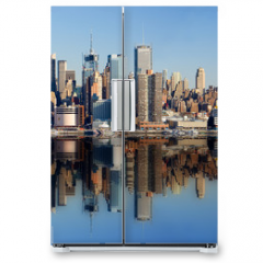 Naklejka na lodówkę - new york city