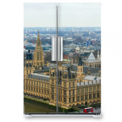 Naklejka na lodówkę - 3917_The_back_view_of_the_Palace_of_Westminster_in_London.jpg
