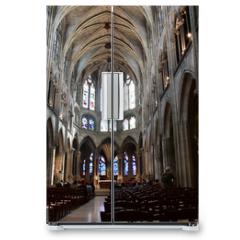 Naklejka na lodówkę - Paris; France - april 2 2017 : the Saint Severin church