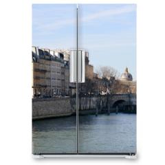 Naklejka na lodówkę - The River Seine at the Pont Neuf bridge, Paris, France