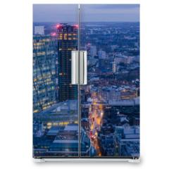 Naklejka na lodówkę - London Cityscape