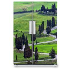 Naklejka na lodówkę - landscapes