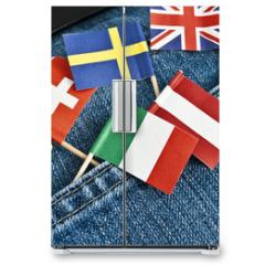 Naklejka na lodówkę - Europa