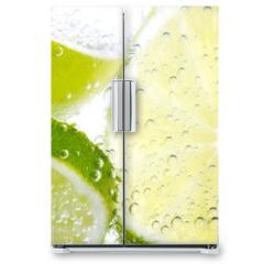 Naklejka na lodówkę - Limette & Zitrone