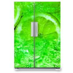 Naklejka na lodówkę - Spritzige Limonen